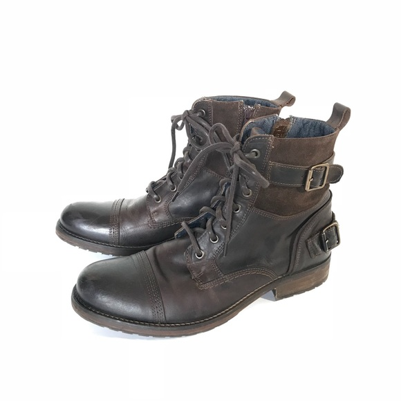 27618467351 Aldo Shoes | Gerrade Mens Combat Military Moto Boots | Poshmark